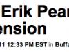 Erik Pears contract