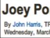 Joey Porter Strikes Gold